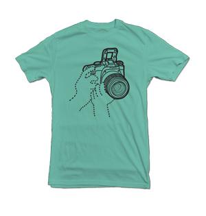 DSLR t-shirt