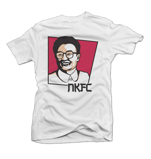 Kim Jong Il t-shirt