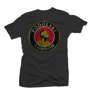 Lukas Podolski Arsenal t-shirt