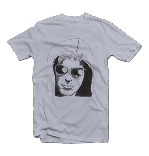 Phil Laak Unabomber t-shirt