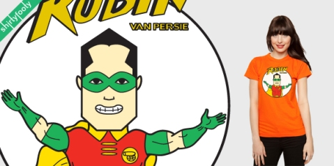 Robin van Persie tee