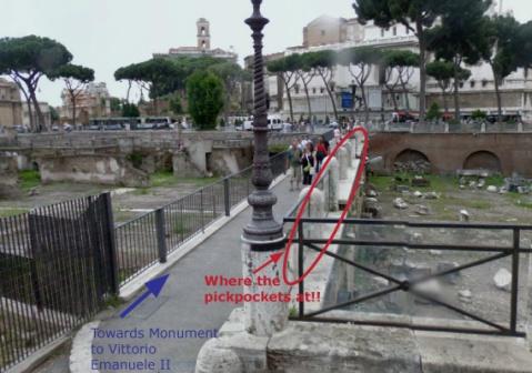 Rome Pickpocket Streetview