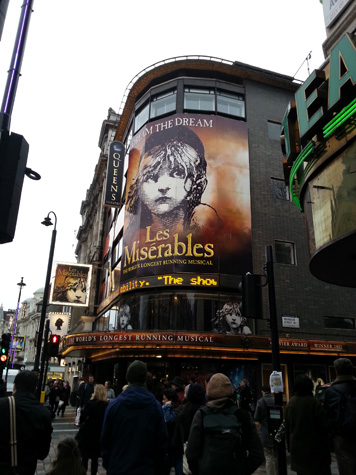 Les Miserables in London