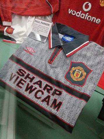 Grey Man Utd jersey