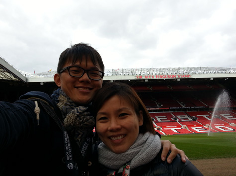 Selfie at Old Trafford