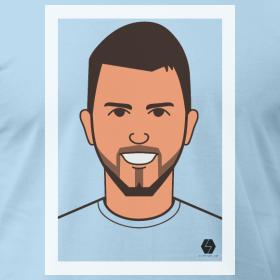 Sergio Aguero t-shirt design