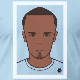 Vincent Kompany t-shirt design