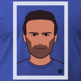 Juan Mata t-shirt design