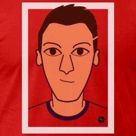 Mesut Ozil t-shirt design