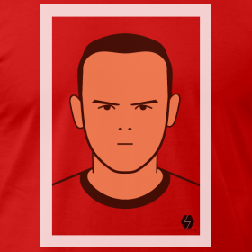 Wayne Rooney t-shirt design