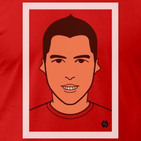 Luis Suarez t-shirt design